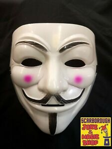 Anonymous Mask ~ Games Master ~ The Hacker ~ Project Zorgo ~ V Guy Fawkes NEW