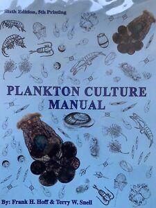 25% OFF Plankton Culture Manual FLORIDA AQUA FARMS rotifer copepods microalgae