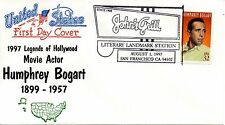 US 2nd Day #3152 Humphrey Bogart, Boerger (5886)