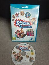 Family Party: 30 Great Games Obstacle Arcade Nintendo Wii U Excellent condition