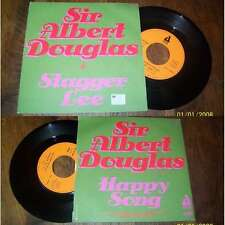 SIR ALBERT DOUGLAS - Stagger Lee French PS 7' Delta Soul Pop 74