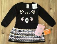 Gymboree Girls Bear Sweater Dress and Star Tights NEW 4T $54.90