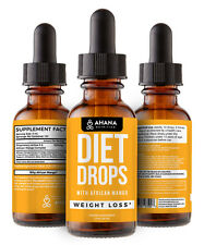 Best Diet Drops Weight Loss Supplement & Fat Burner - Hormone Free and HCG Free