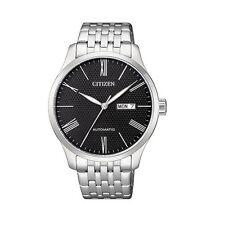 Citizen Analog Business Watch Mechanical Silver Mens Nh8350-59e