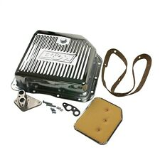 B&M 30289 Chrome Deep Transmission Pan - TH350 Trans - 2qt Additional Capacity