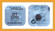 6 x Renata original Blister Batterien 377 V377 SR626SW AG4 Silberoxid 1,55V