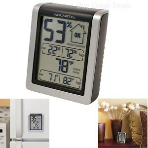 Indoor Humidity Meter Thermometer Digital Monitor Hygrometer - New