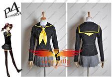 Shin Megami Tensei: Persona 4 P4 Cosplay Dress School Girl Uniform Costume