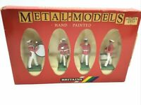 Britains Deetail 7304 US Marines Drums And Bugle Corps Band 1:32