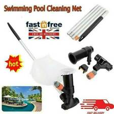 More details for hot tub swimming pool pond fountain jet vacuum cleaner cleaning tools set uk