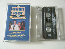 QUIET RIOT WINNERS TAKE ALL CASSETTE TAPE SONY USA 1990