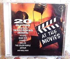 AT THE MOVIES ~ 20 GREAT MOVIE THEMES CD ALBUM VGC + FREE P&P