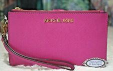 Michael Kors Jet Set Travel Wristlet Wallet - Pink