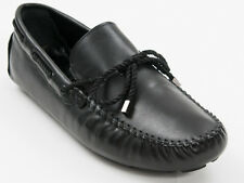 New Roberto Serpentini Black  Leather Made in Italy shoes Size 44 US 11