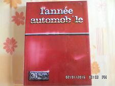 LIVRE L'ANNEE AUTOMOBILE N°30 1982 - 1983  J27