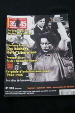 HEIMDAL MAGAZINE 39/45 N°218 EPURATION FEMMES TONDUES RISSO AVIATION
