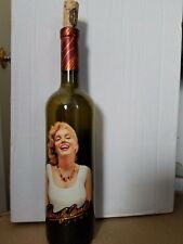 Vintage 2003 Marilyn Monroe Napa Valley Merlot EMPTY Wine Bottle Nova Wines