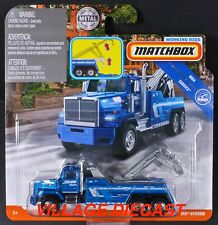 2019 Matchbox Working Rigs Western Star® 6900XD BLUE / WIERSMA TOWING / MOC