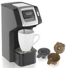 Hamilton Beach Single Serve Coffee Maker Machine FlexbBrew for Pods & Grounds