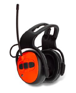 Husqvarna Headband Earmuff Hearing Protection with FM Radio