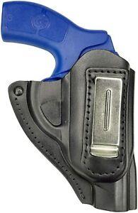 IWB 11 Leder Revolver Holster für Weihrauch Arminius HW 88 schwarz VlaMiTex