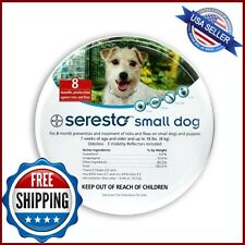 Seresto Flea and Tick 8 Month Collar for Small Dogs up to 18 lbs (Exp. 01/2020)