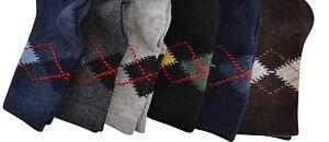 Boys Wool Winter Socks Toddler Kids Lambswool 3 pairs Various Sizes & Colours