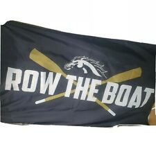 Western University of Michigan Row The Boat Flag 3x5ft banner Broncos