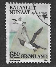 """1942 Vintage AUDUBON BIRDS #218 /""""ATLANTIC MURRE/"""" Color Art Plate Lithograph"""