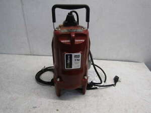 Liberty PRG101A 115V 1HP  Automatic Residential Grinder Pump