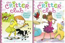 The Critter Club Lot Of Two Books 1 Amy And The Missing Puppy 2 All About Ellie