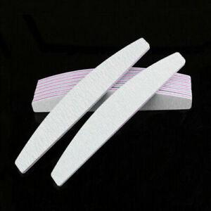 1/2/5/5Pcs Zebra Sanding Nail Files Manicure Tool Nail Grinding Polishing File