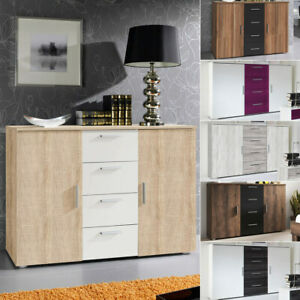 Kommode Carolin Sideboard Anrichte Schubladenkommode Modernes Design