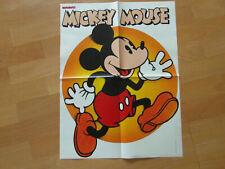 Bravo Din A 2 Poster 35/1978 Mickey Mouse und Holger Thomas, sehr gut erhalten
