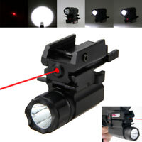 XPG-R5 LED Flashlight 532nm Red Dot Aiming Laser Hunting Sight fit 20mm Rails K