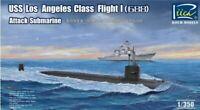 RIICH MODELS 1/350 USS LOS ANGELES CLASS FLIGHT I (688) ATTACK SUBMARINE | 28005