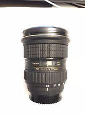 Tokina AT-X PRO 12-24mm f/4 DX AF Lens For Nikon F Mount -great condition