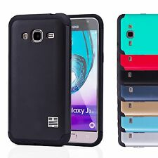 32nd Slim Armour Tough Case Cover for Samsung Galaxy J3 (2016) Sm-j320 - Red