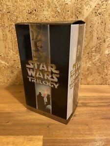 Star Wars Trilogy Box Set VHS Video 2000 PAL PG Digitally Mastered THX