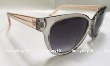 NWT Tommy Hilfiger PAOLA Authentic Transparent Gray Brown Sunglasses  /725/ NEW