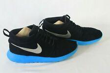 Nike Roshe Run Mid Black Teal Rare Sneakerboot 511881-004 Men's sz 8.5 Free Ship