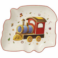 VILLEROY & BOCH Toy's Delight Servierschale Servierteller Zug Weihnachtsdeko