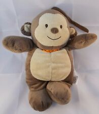 "Carters Child of Mine Monkey Crib Musical Plush 10"" Stuffed Animal"