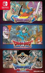 Dragon Quest Trilogy Collection ( 1+2+3 ) Switch Import in stock !!