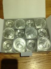More details for 12 x olympia american shot glass 30ml 1 oz ref gf921