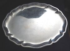 German 830 Silver Manufactured Hand Assembled Shallow Oval Tray 7570 Estate