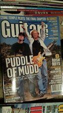 Guitar one MAGAZINE JANUARY 2004 MAROON 5 JANE'S ADDICTION WHO ACDC  tab BOOK