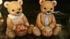 Homco Bear Figurines #1405