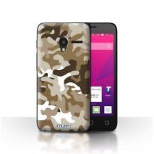 Étuis, housses et coques marron Pour Alcatel One Touch pour téléphone mobile et assistant personnel (PDA) Alcatel