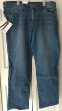 Ladies Calvin Klein Jeans Size 14-Thallium-Straight Leg-NWT-Free Shipping